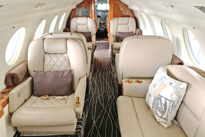 Falcon 50 Interior Photo